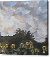 Early September Dawn Acrylic Print by Grace Keown