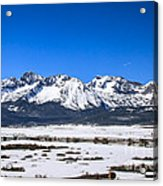 Early Spring In The Sawtooth Acrylic Print