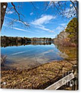 Early Spring On Long Pond Acrylic Print