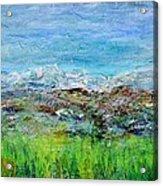 Early Spring Range Acrylic Print