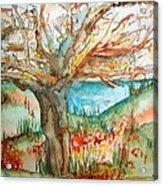 Early Winter Tree Acrylic Print