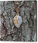 Earring In A Tree Acrylic Print
