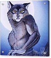 Ears Of The Werewolf Acrylic Print