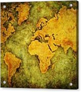 Earth And Brine Acrylic Print