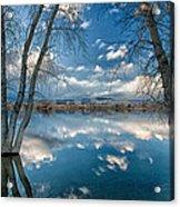 Earth And Sky Acrylic Print