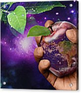 Earth Apple Acrylic Print
