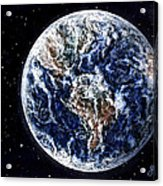 Earth Beauty Original Acrylic Painting Acrylic Print