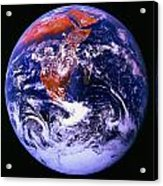 Earth From Space Centered On East Africa Acrylic Print