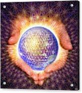 Earth Healing Acrylic Print
