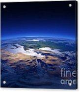 Earth - Mediterranean Countries Acrylic Print by Johan Swanepoel