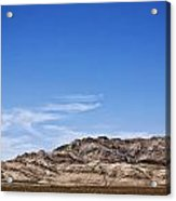 Earth Meets Sky Acrylic Print