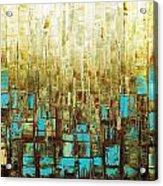 Abstract Geometric Mid Century Modern Art Acrylic Print