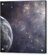 Earth Planet Acrylic Print