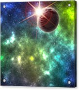 Earth The Final Frontier  Acrylic Print