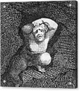 Earth Acrylic Print by William Blake