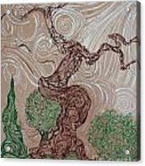 Earthen Tree Acrylic Print