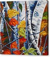 Earthly Pillars Acrylic Print