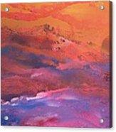Earth's Canvas Acrylic Print