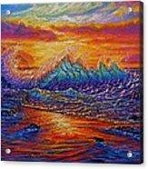 Earths Edge Acrylic Print