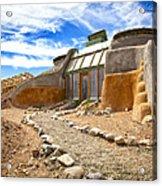 Earthship Taos  Acrylic Print