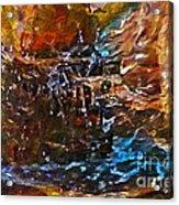 Earthy Abstract Acrylic Print