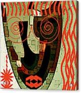 Earthy Woman Acrylic Print