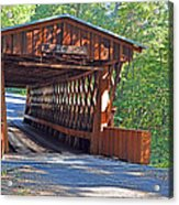 Easley Covered Bridge Acrylic Print