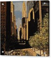 East 42nd Street Acrylic Print