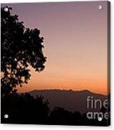 East Africa Sunrise Acrylic Print