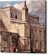 East Bergholt Church, Northside Acrylic Print