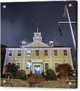 East Greenwich Town House At Night Acrylic Print