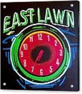 East Lawn Acrylic Print