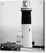 East Light Lighthouse Altacarry Altacorry Head Rathlin Island  Acrylic Print