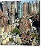 East Midtown Aerial Acrylic Print