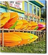 East Of Maui - Dewey Beach Delaware Acrylic Print