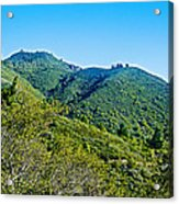 East Peak Of Mount Tamalpias-california Acrylic Print