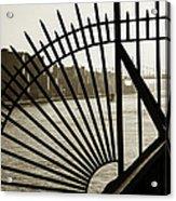 East River Spoke - New York City Acrylic Print