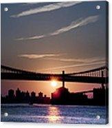 East River Sunrise - New York City Acrylic Print