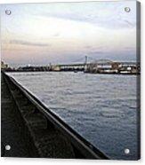East River Vista 1 - Nyc Acrylic Print