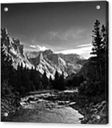 East Rosebud Canyon 7 Acrylic Print by Roger Snyder