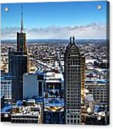 East Side Winter 2013 Acrylic Print