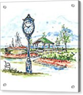 East Tawas Harbor Park Acrylic Print