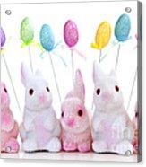 Easter Bunny Toys Acrylic Print