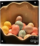 Easter Candy Malted Milk Balls I Acrylic Print