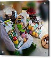 Easter Chocolate Acrylic Print