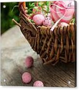 Easter Concept Acrylic Print by Mythja  Photography
