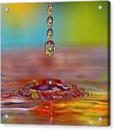 Easter Drop Water  Acrylic Print
