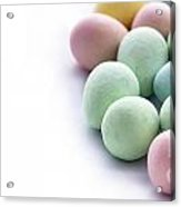 Easter Eggs Candy Panorama Acrylic Print