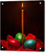Easter Hope For Peace And Life Acrylic Print