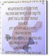 Easter Prayer For You Acrylic Print